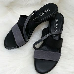 Italian Shoemakers slip on Sandals